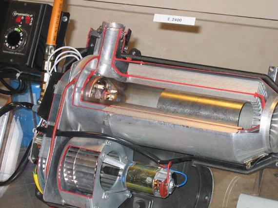 Электрический обогреватель для автомобиля своими руками